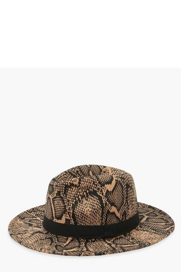 Brown Snake Fedora