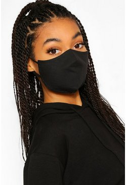 Black 3 Layer Mask With Interchangeable Filters