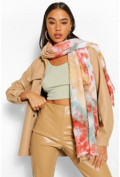 Multi Tie Dye Light Weight Scarf