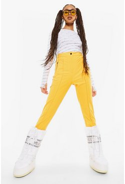 Yellow Luxe Tapered Salopettes