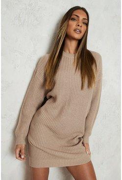 Strickkleider Pulloverkleider Herbstkleider Boohoo De
