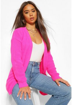 Pink Edge To Edge Cardigan