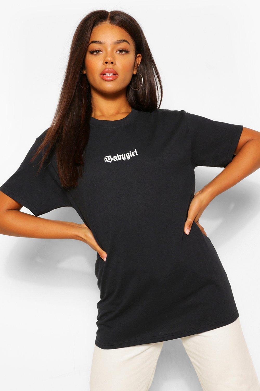 Baby Girl Oversized T-Shirt | boohoo