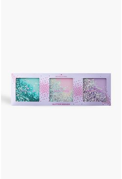 Multi I Heart Revolution Glitter Seeker Gift Set