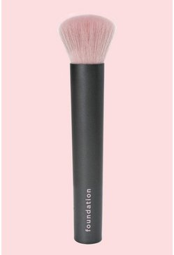 Real Techinques Easy As 123 Foundation Brush - Pennello per fondotinta, Nero