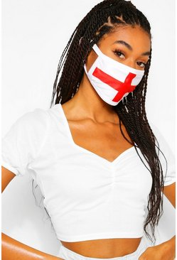 Multi England Flag Fashion Face Mask