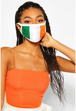 Multi Ireland Flag Fashion Face Mask