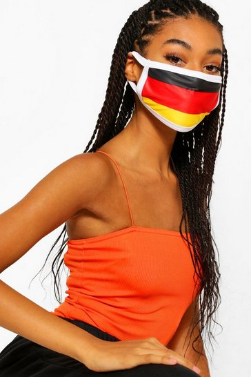 Multi Germany Flag Fashion Face Mask