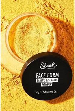 Beige Sleek Face Form Baking och settingpuder i gul nyans