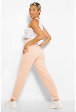 Peach orange Basic Regular Fit Joggers