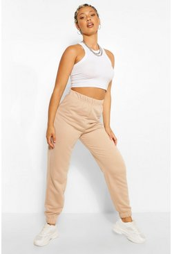 Natural beige Basic Regular Fit Jogger