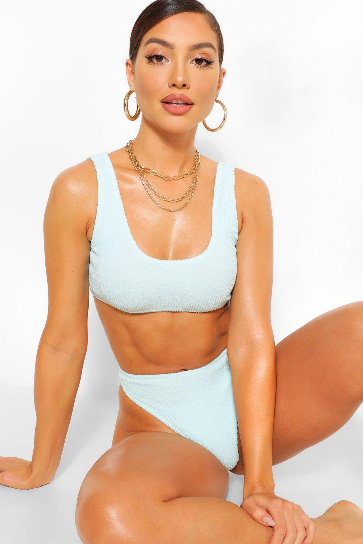 Swimwear Crinkle Bikini Top