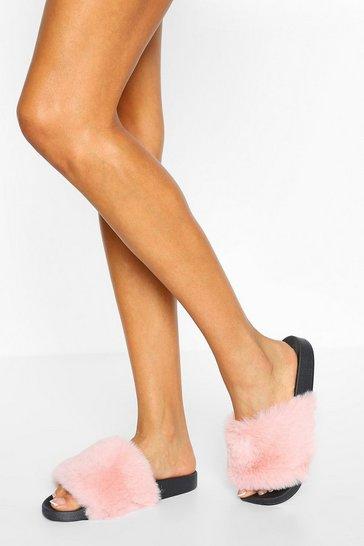 Pink Fluffy Sliders