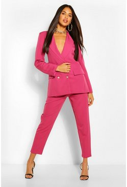 Raspberry pink Tailored Trousers