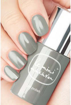 Grey Le Mini Macaron Sugar Stone Gel Polish