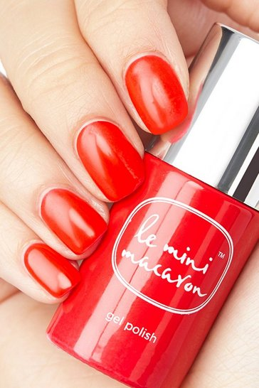 Le Mini Macaron Cherry Red Gel Polish