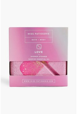 Pink rosa Miss Patisserie Love Jasmine Oil Duschblock