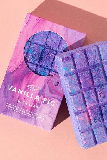 Purple Miss Patisserie Vanilla Fig Bath Slab