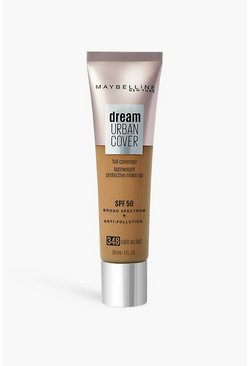Sand beige Maybelline Urban Cover Foundation Café au Lait