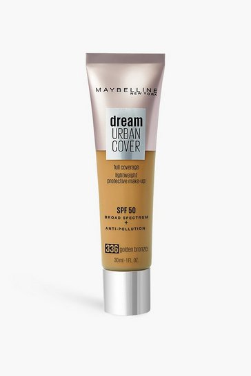 Bronze metallic Maybelline Urban Cover Foundation GoldBronze