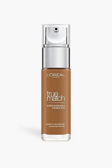 Brown L'Oreal True Match Liquid Foundation Truffle