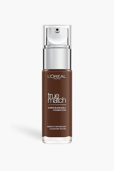 Brown L'Oreal True Match Foundation Ebony