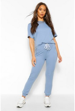 Blue Jogger Lounge Set