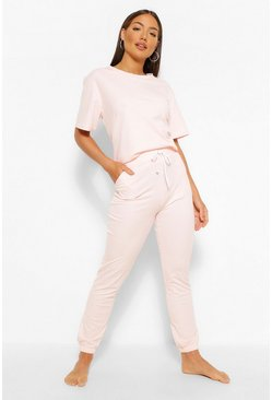 Blush pink Jogger Lounge Set
