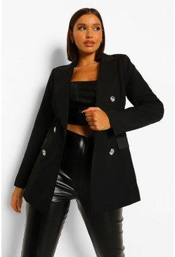 Oversized Blazer & Straight Leg Trouser Suit Set
