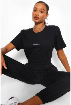Black Woman Print T-Shirt