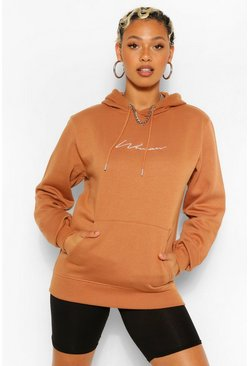 Rust Woman Signature Hoody