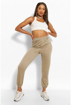 Light khaki CASUAL CUFF HEM JOGGER
