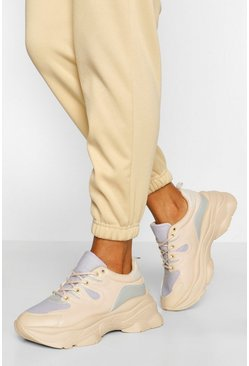 Stone beige Super Chunky Platform Sneakers