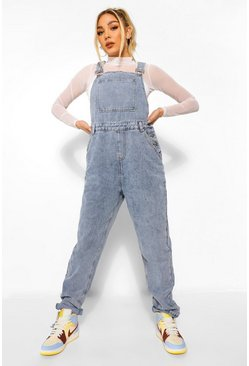 Denim Vintage Wash Dungaree