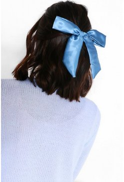 Teal green Bow Bobble