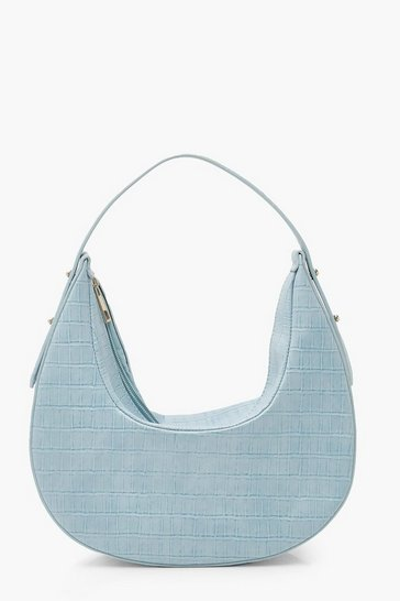 Blue Moon Shape Shoulder Day Bag