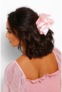 Blush pink Oversized Supersoft Hair Protect Scrunchie