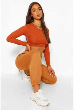The Oversized Boyfriend Sweat Jogger, Spice