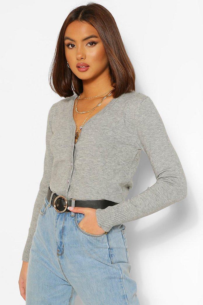 Fine Knit Cardigan | boohoo