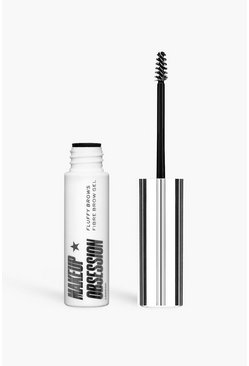 Makeup Obsession Brow Fibre Gel Dark Brown, Multi