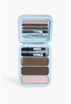 Makeup Obsession Brow Kit Med-Dark Brown, Multi