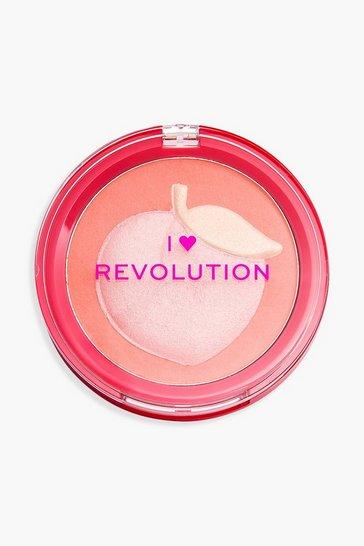 Multi I Heart Revolution Fruity Blusher Peach