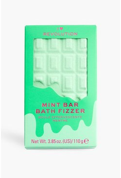 Multi I Heart Revolution Choc Bar Bath Fizzer Mint