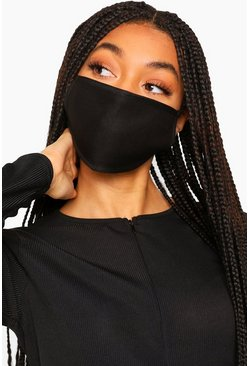 Black Fashion Face Mask 3 Pack