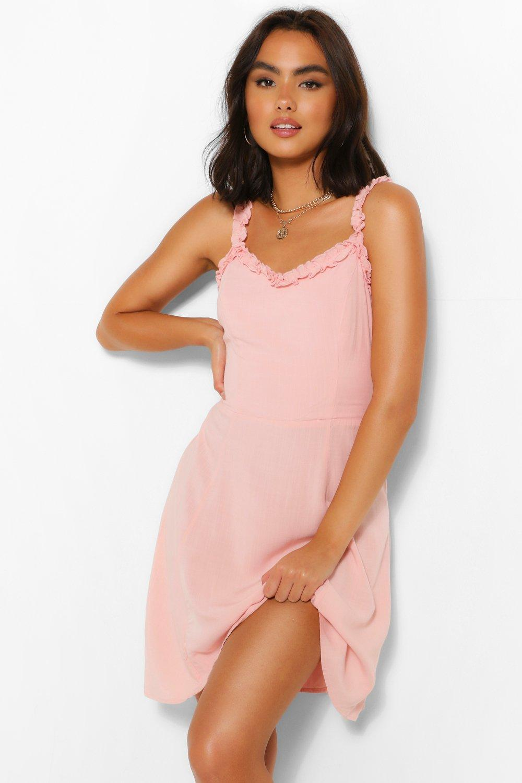 DRESSES Ruffle Woven Sundress