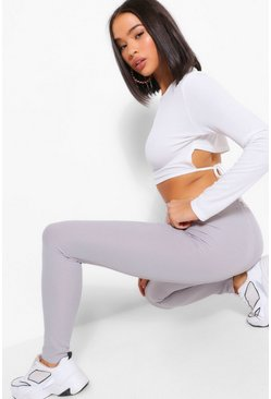 Ice blue Everyday Ribbed Jersey Legging