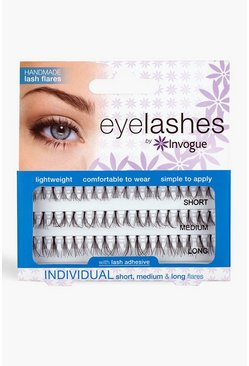Black Invogue Eyelash - Individual Lashes