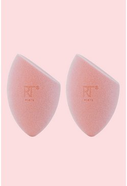 Pink Real Techniques 2 Pk Miracle Powder Sponge