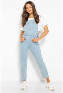 Indigo blue Denim Mom Dungaree