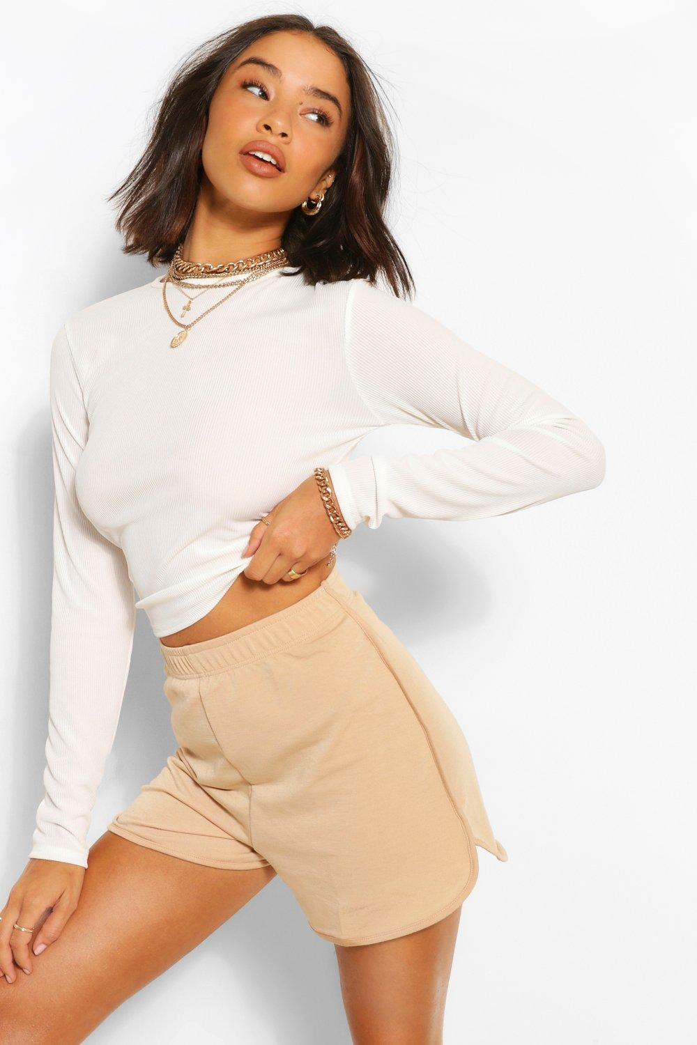 Don't Miss Out Soft Loopback Shorts